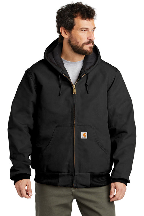 Carhartt ® Tall Quilted-Flannel-Lined Duck Active Jac. CTTSJ140