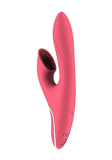 Hiky Rechargeable Rabbit Vibrator with Clitoral Suction