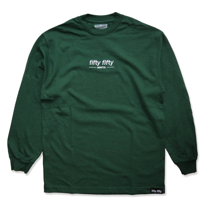 Fifty Fifty Bristol LS T-Shirt Forest Green