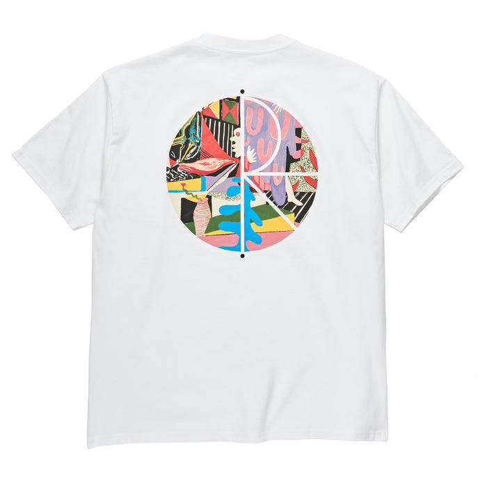 Polar Skate Co TK Fill Logo T-Shirt White