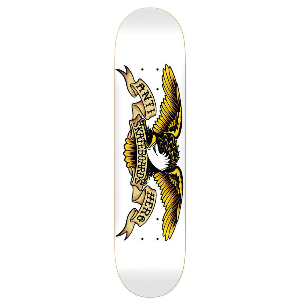 Anti Hero Classic Eagle Deck White - 8.75