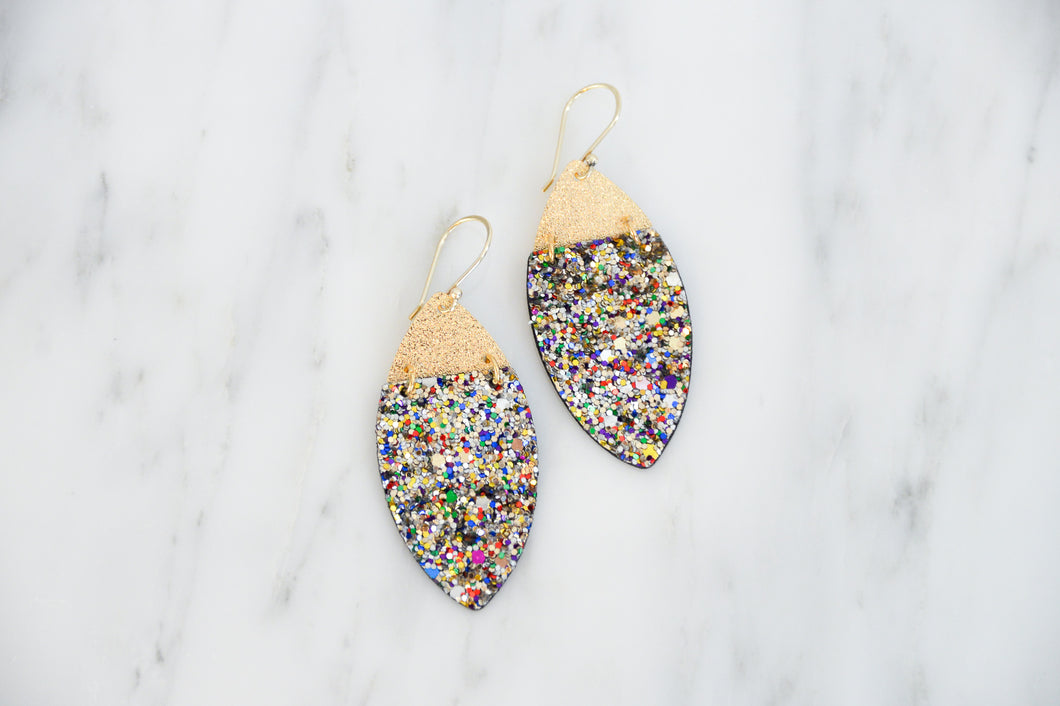 Glitter Galaxy Earrings