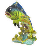 Mahi Mahi Jeweled Trinket Box with SWAROVSKI Crystals