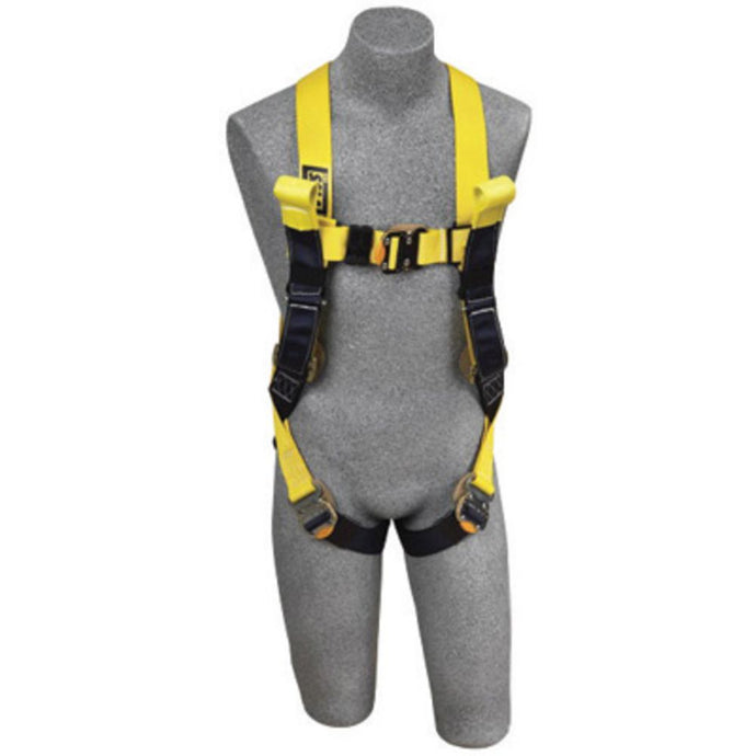 3M DBI-SALA X-Large Delta Arc Flash No-Tangle Construction/Full Body/Vest Style Harness With Back Web Loop, Rescue Loop, Quick Connect Leg Strap Buckle And Leather Insulators