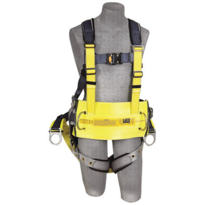 3M DBI-SALA Medium ExoFit Derrick Full Body/Vest Style Harness With Back D-Ring with 18