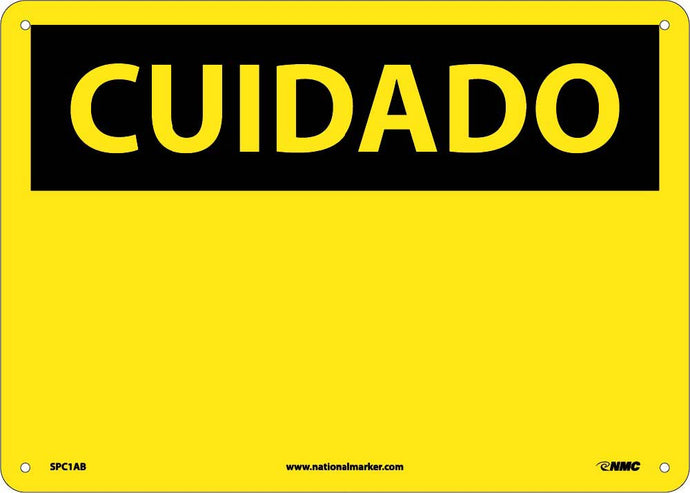 Caution Sign - Spanish