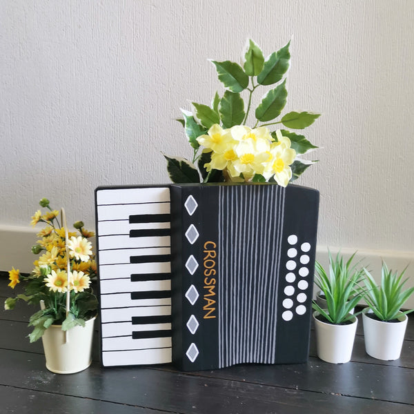 Personalised Accordion Plant Holder