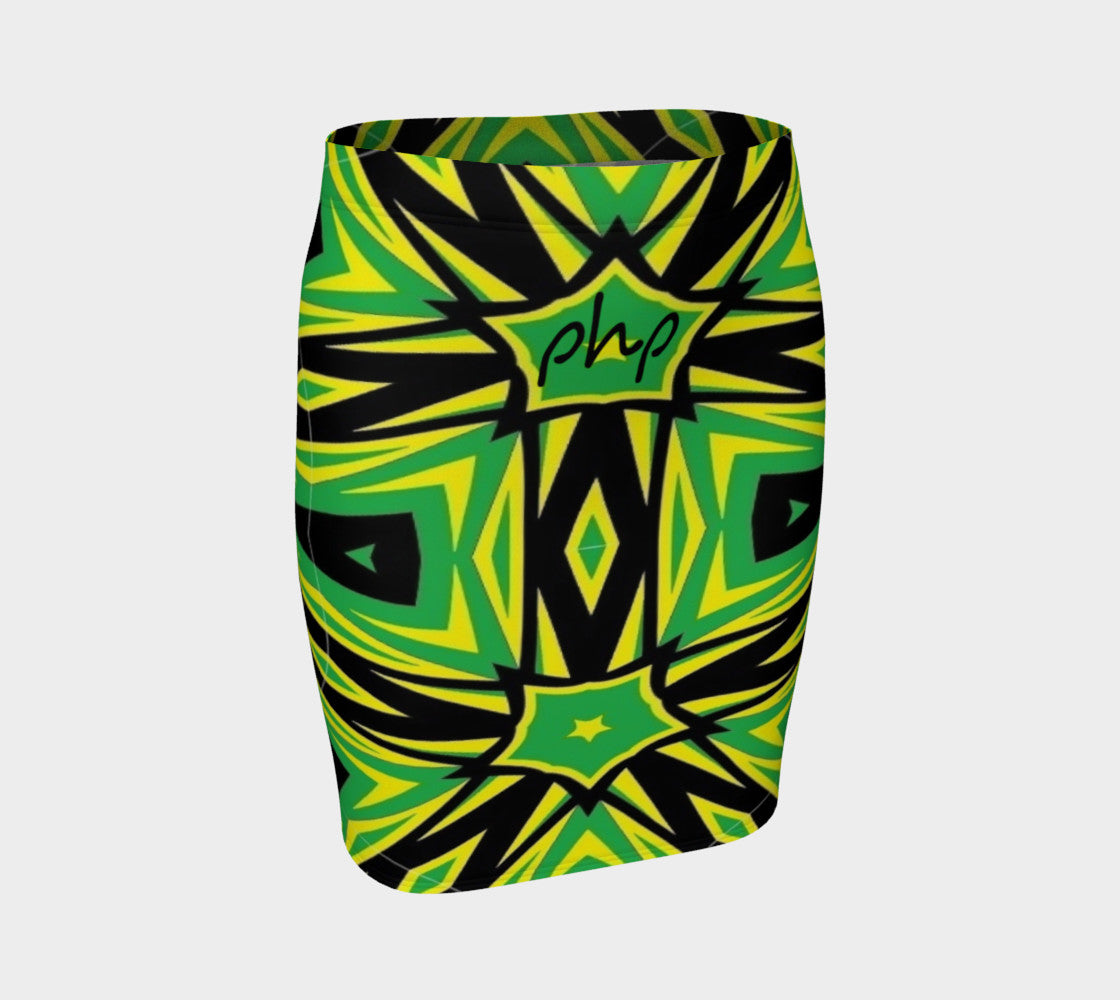 Php Jamaica Fitted Skirt