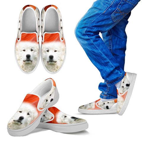 Great Pyrenees Kid's Slip On - Free Shipping