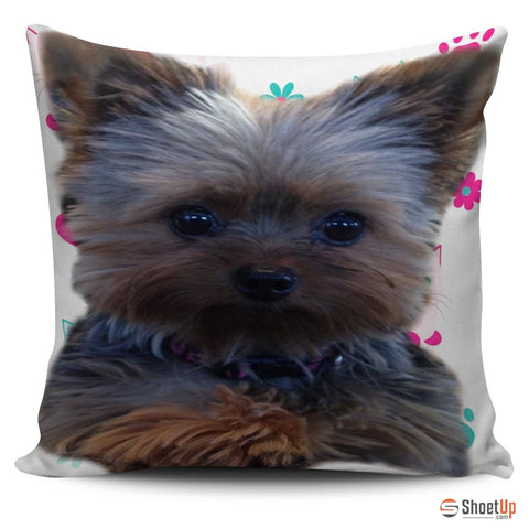 Yorkshire Dog-Pillow Cover-3D Print-Free Shipping