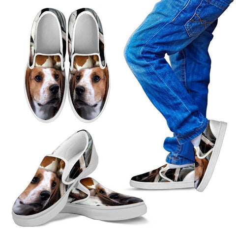 Treeing Walker Coonhound Print Slip On - Free Shipping