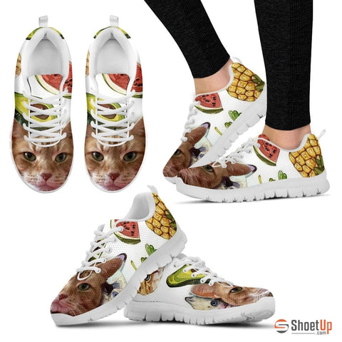 Susan Elizabeth 'Smiley Cat' Running Shoes - Free Shipping