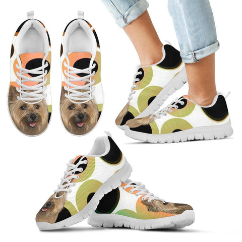 Cairn Terrier Dog Men Running Shoes - Free Shipping