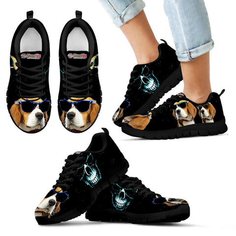 Beagle Halloween Themed Kids Running Shoes - Free Shipping