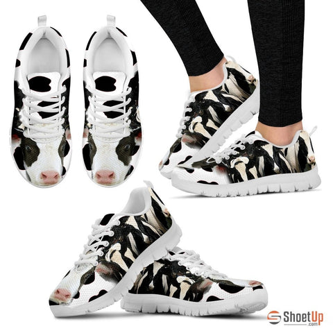 Cow Women Running Shoes - Free Shipping