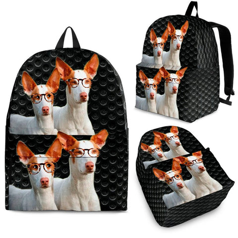 Ibizan Hound Dog Print  Back Pack- Free Shipping