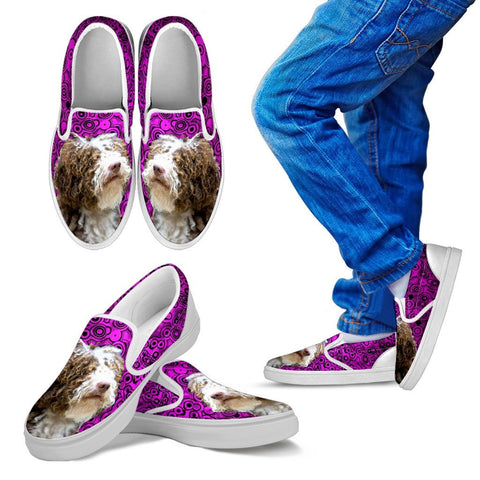 Spanish Water Dog Print Slip On - Free Shipping