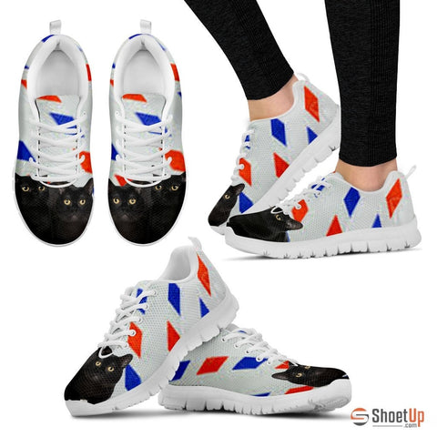 Bombay Cat Print Running Shoes - Free Shipping