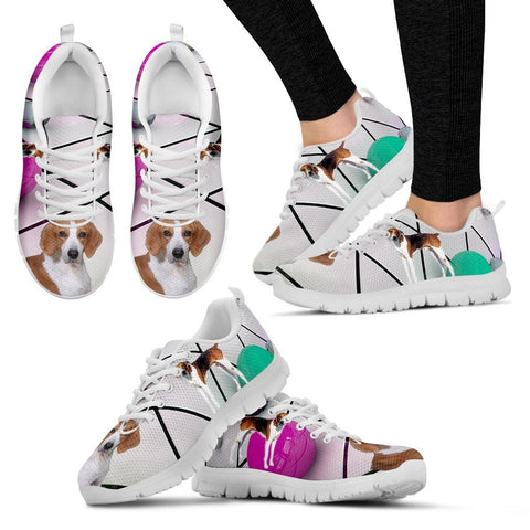 Shoetup - American Foxhound Dog Running Shoes For Women