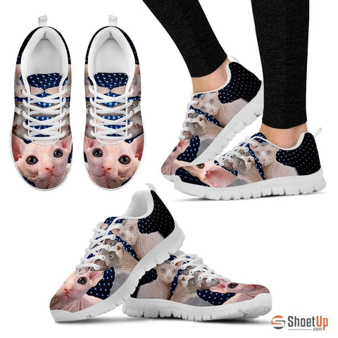 Sphynx Cat Print Running Shoes -Free Shipping