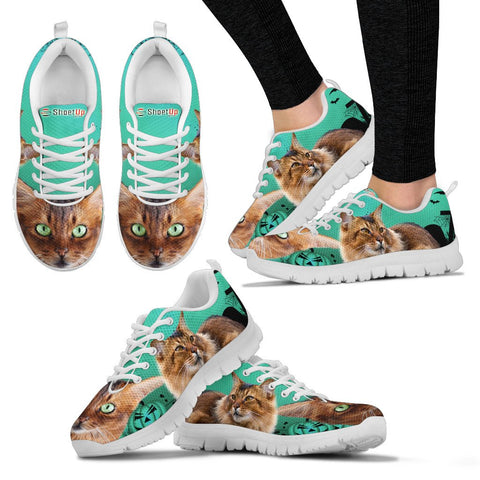Somali Cat (Halloween) Print-Running Shoes-Free Shipping