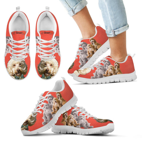 Cute Labradoodle Running Shoes - Free Shipping