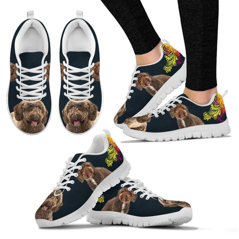 Spanish Water Dog Print Running Shoes - Free Shipping