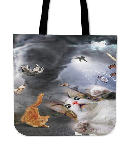 Screaming Cats Tote Bag - Free Shipping