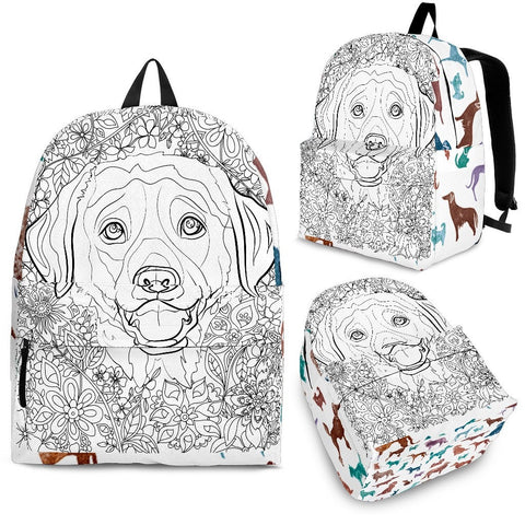Adult Coloring Backpack- Free Shipping