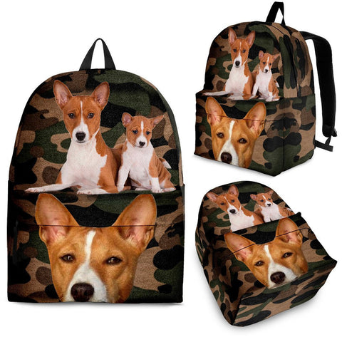 Basenji Dog Kids Back Pack- Free Shipping