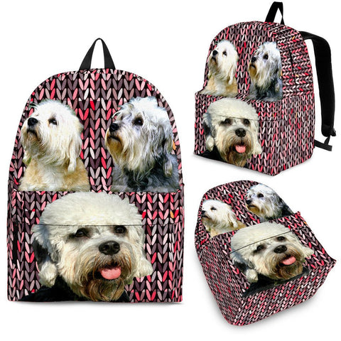 Dandie Dinmont Terrier Dog Backpack- Free Shipping