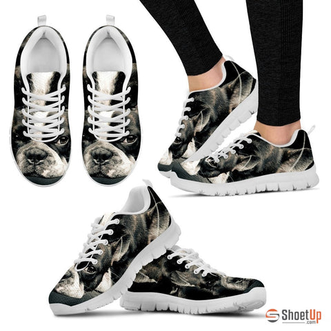 Shoetup - Boston Terrier (Dog) Print Running Shoe Women