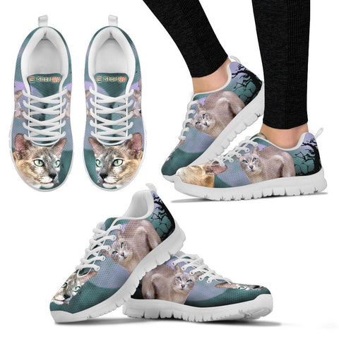 Tonkinese Cat (Halloween) Print-Running Shoes - Free Shipping
