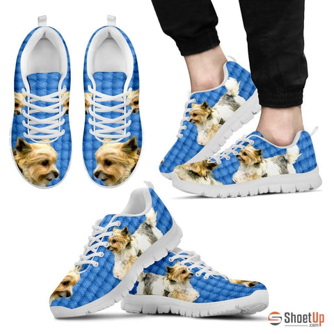 Customized Dog Print (Black/White) Running Shoes - Free Shipping