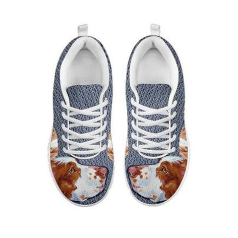 Brittany Dog-Women's Running Shoes-Free Shipping