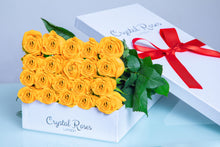 Fresh Cut Yellow Roses - Gift Box