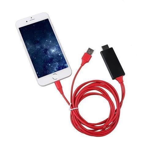 Image of cable hdmi de iphone 5 a tv