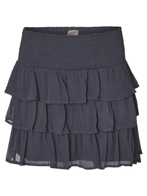 RUFFLED SHORT SKIRT