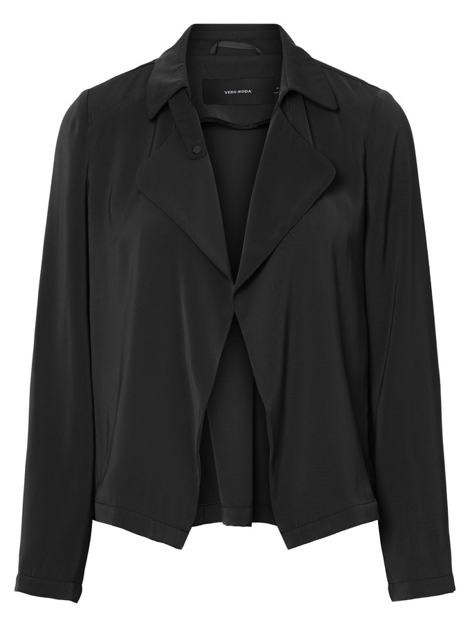 FLUID BLAZER BLACK