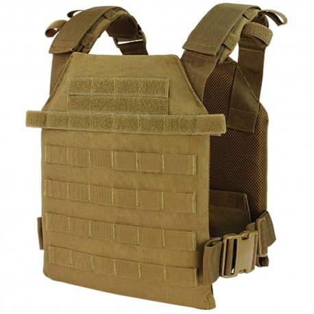 Condor Sentry Plate Carrier - Coyote Brown