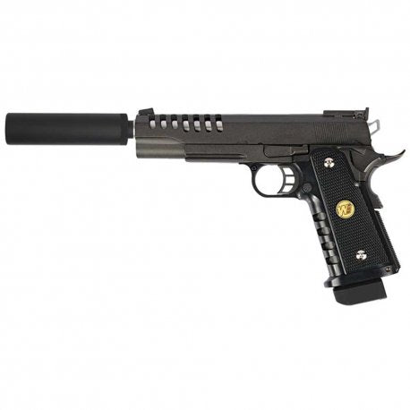 WE Hi-Capa 5.1 K-Version Lightened Gas Blowback Airsoft Pistol