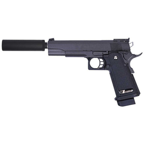 WE Hi-Capa 5.1 R-Version Gas Blowback Airsoft Gun Pistol