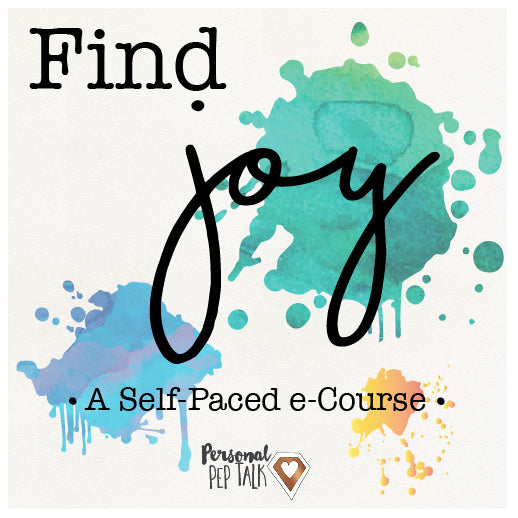 An empowering self-paced e-course designed to help you find more joy in your work and in life