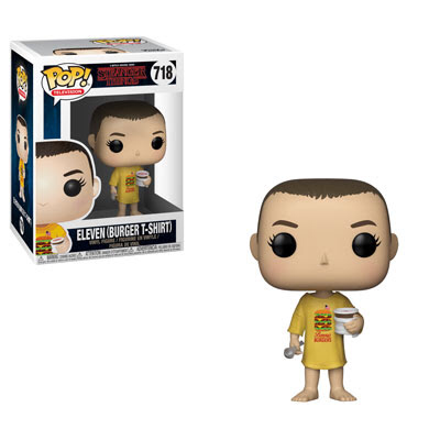 Eleven with Burger Shirt - Stranger Things - Funko Pop! Vinyl Figure - NOVEMBER