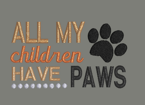All My Children Have Paws 4x4