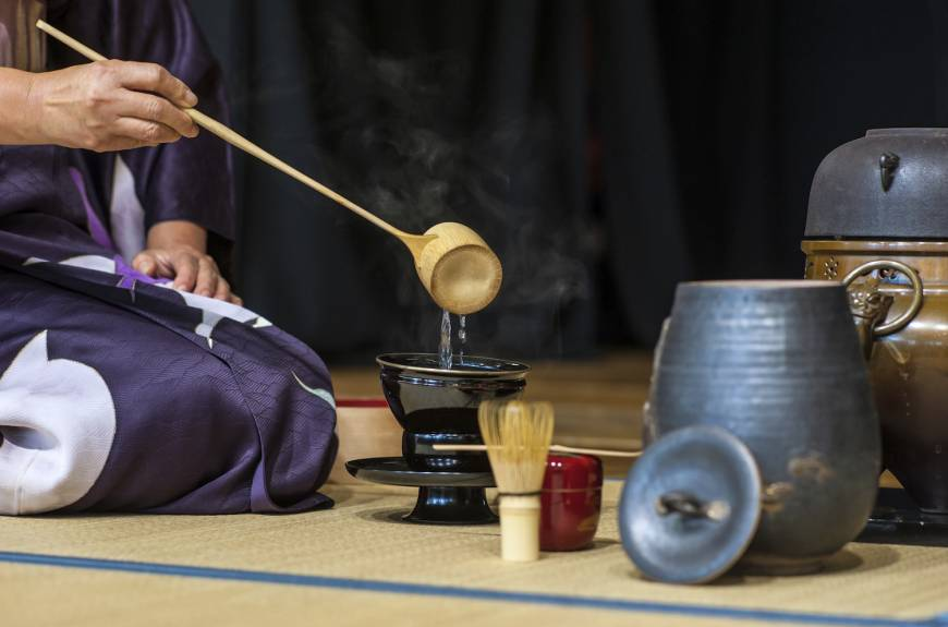 The Ancient Japanese Tea Ceremony
