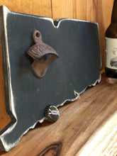 NEW!! Connecticut Wood Chalkboard Bottle Opener