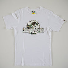 Bape x Jurassic World Green Camo Logo Tee (Small / USED)