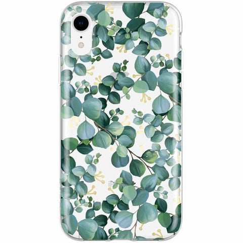 Green floral pattern case for iphone XR. A woman style case from Incipio Australia