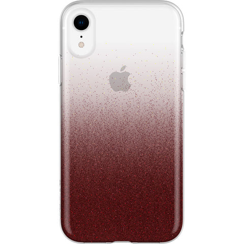 buy glitter case red colour for iphone xr with afterpay payment & return policy